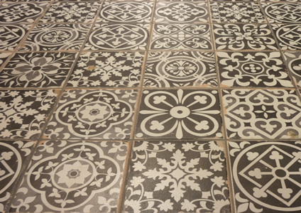 old look floor tiles Sydney