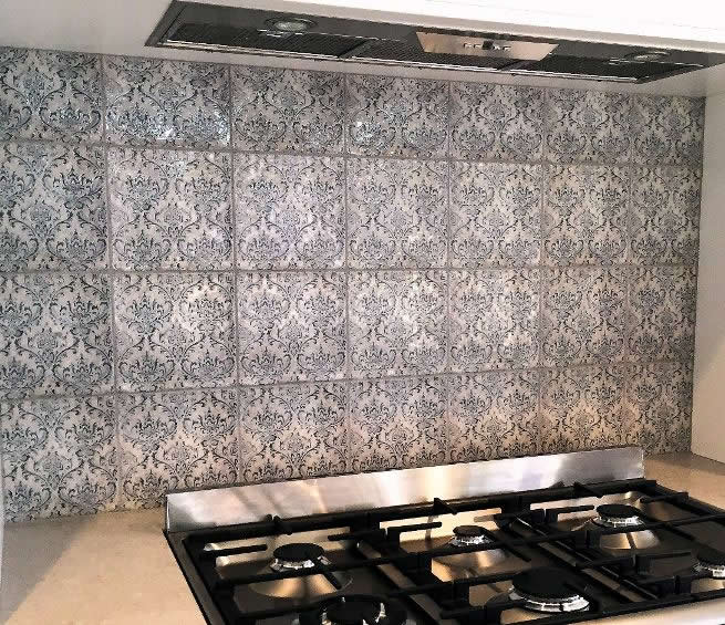 Tiles wall tiles floor tiles mosaic tiles kitchen tiles showroom - Vintage Feature Wall Moroccan Tiles Sydney Spanish