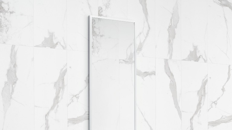 Spanish Glazed Porcelain Wall And Floor Tiles With The Look Of Wide Vein  Carrara Marble. Up To 70 Unique Prints Making It Look So Real, But Without  The ...