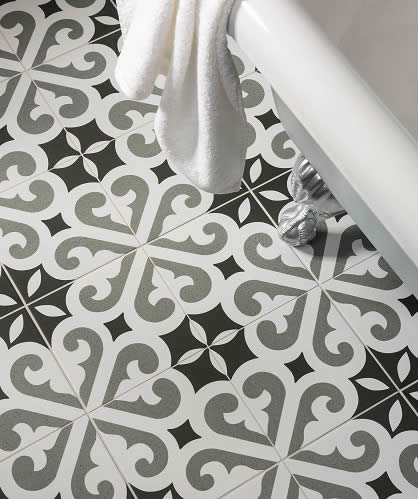 black and white floor tile. Artisan Tiles Sydney Australia Bathoom Floor  Black And White Black White Floor Tiles Kitchen Bathroom Tile