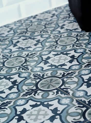Moroccan Tiles sydey Blue pattern