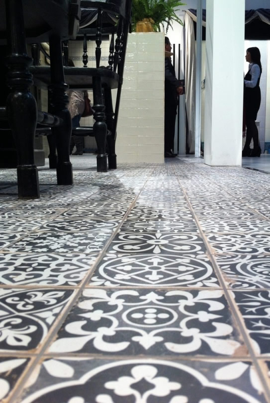 Moroccan Tile Kitchen Floor