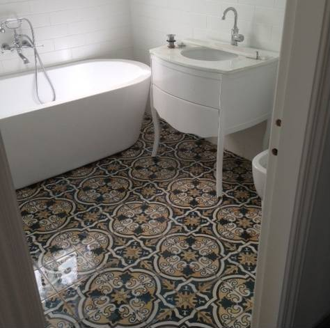 Sydney tiles moroccan artisan encuastic vintage for Latest floor tile trends
