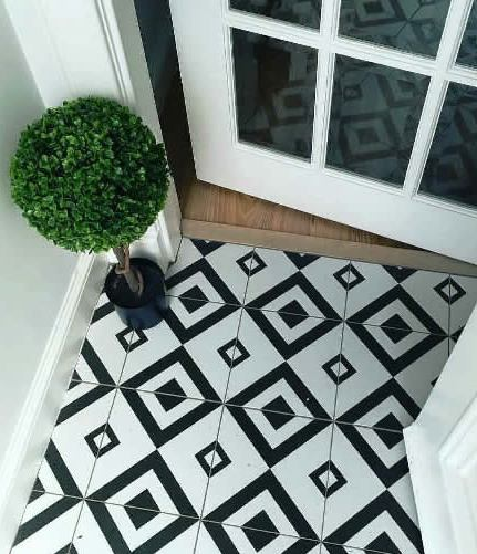 Black And White Floor Tiles Sydney Kitchen And Bathroom Tiles Sydney