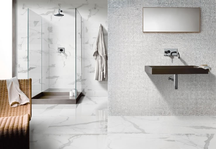 Carrara Tiles Sydney. Bathroom Tiles