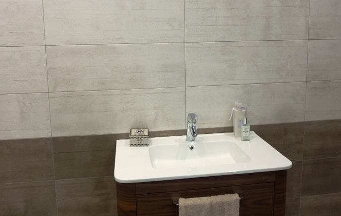 timber look bathroom tiles Sydney
