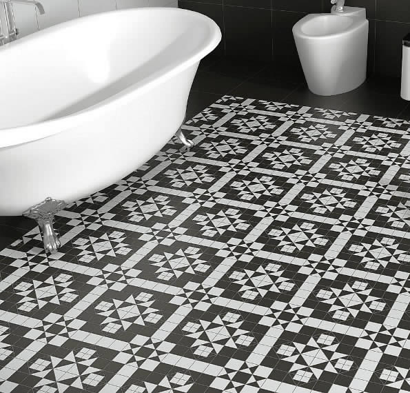 Black And White Floor Tiles Sydney Replica Federation