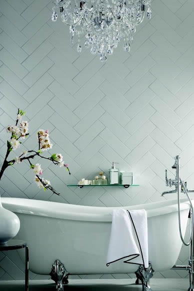 Sydney Subway Tiles Zellige Hampton Bathroom Wall Handmade