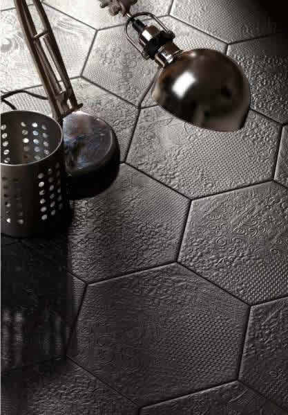 hexagon tiles Sydney bathroom feature walls