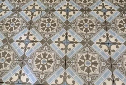 Hampton Encaustic Handmade Subway Tiles Look Wall Floor Moroccan