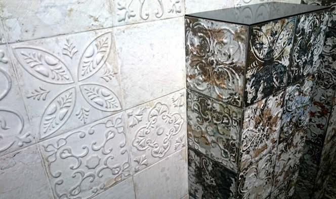 feature tile bathroom wall Sydney