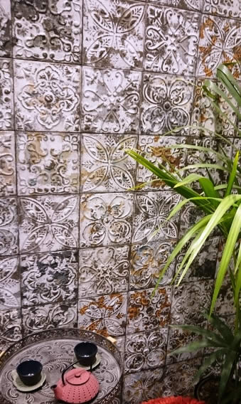 pressed metal tiles Sydney showromm for European tiles