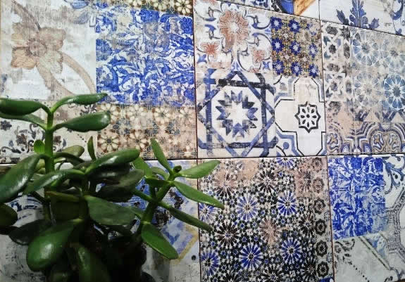 feature tiles Moroccan sydney tiling