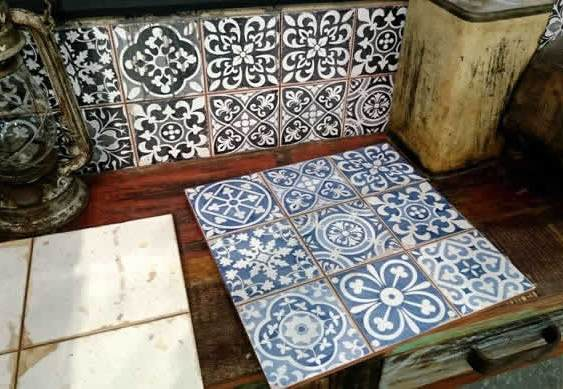 Encaustic look tiles Sydney Australia