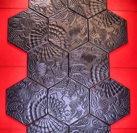 Hexagon Tiles Sydney Bathroom Hex Tile Feature Wall Gaudi