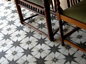 Black And White Tiles Sydney Australia Kitchen Bathroom