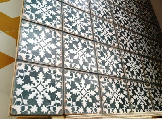 black and white tiles Sydney