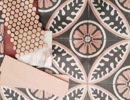 Sydney Moroccan Tiles Reproduction Encaustic Vintage