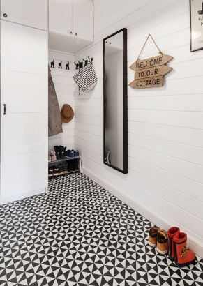 black and white tiles Australia