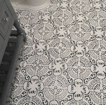 Hamptons look bathroom tiles Sydney