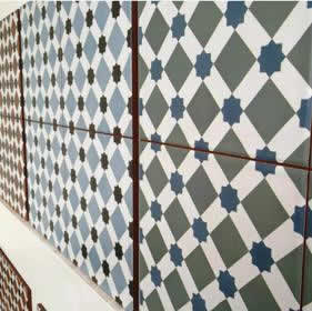 Federation Bathroom Tiles