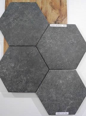 Hexagon Tiles Sydney Bathroom Hex Tile Feature Wall Gaudi