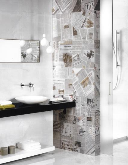 Feature Tiles Sydney Bathroom Tiles Pressed Metal look ...